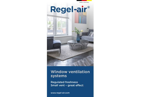 Window ventilation systems - Regulated freshness