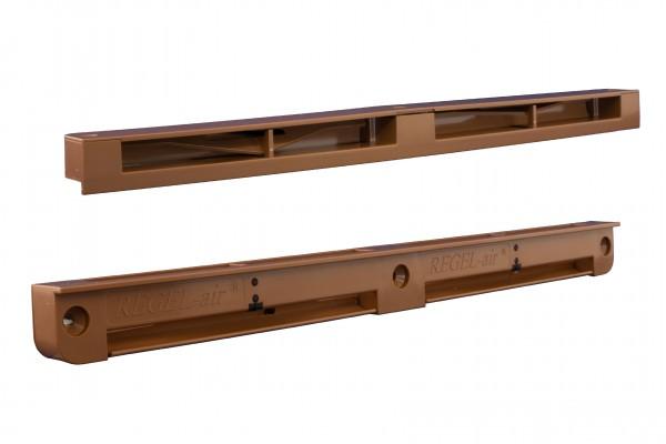 Regel-air® Fensterfalzlüfter FFLHmax Typ 44 lehmbraun