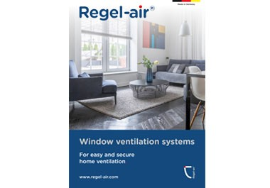 Window ventilation systems - For easy and secure home ventilation
